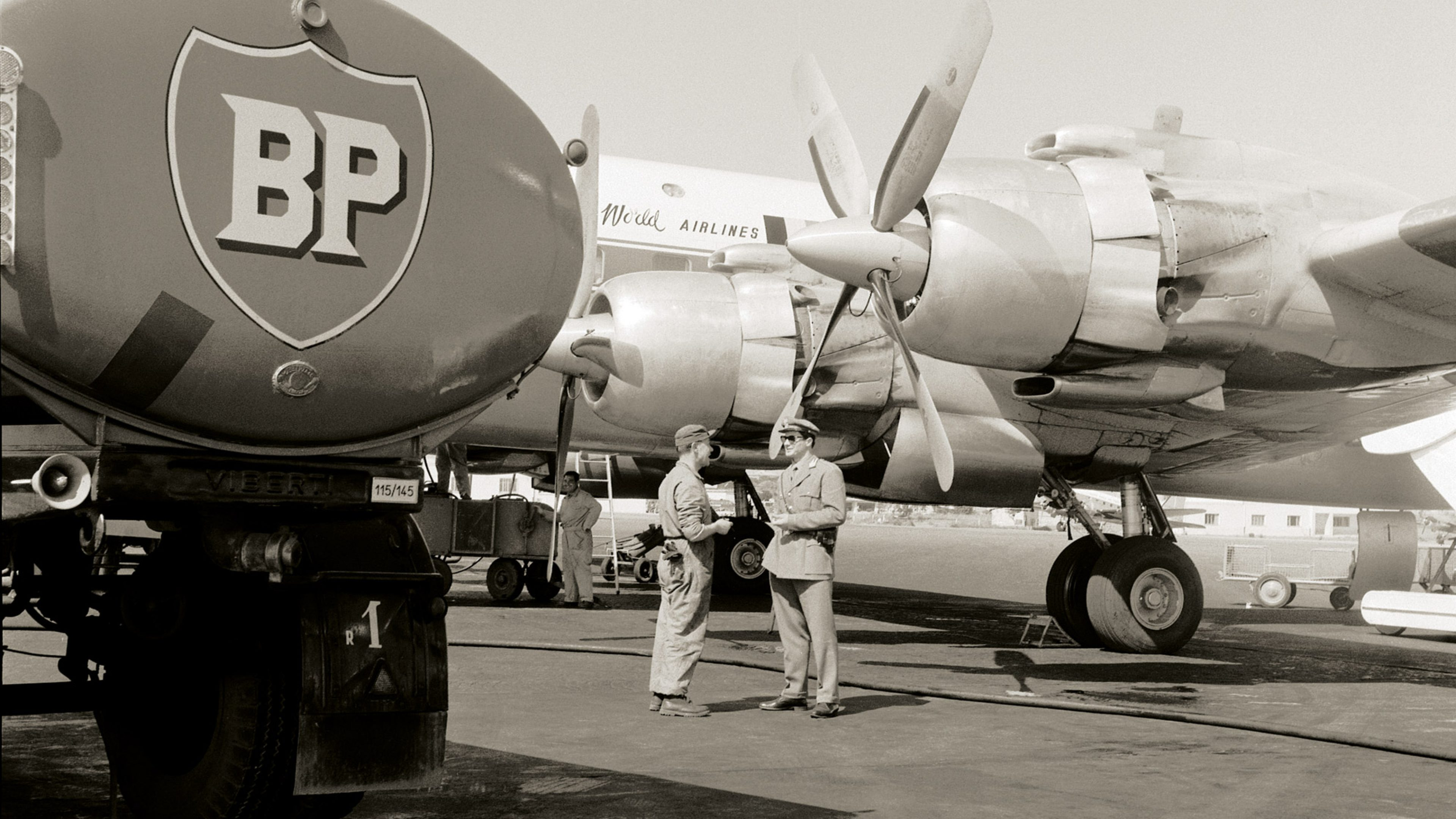 1950s BP Aviation Service