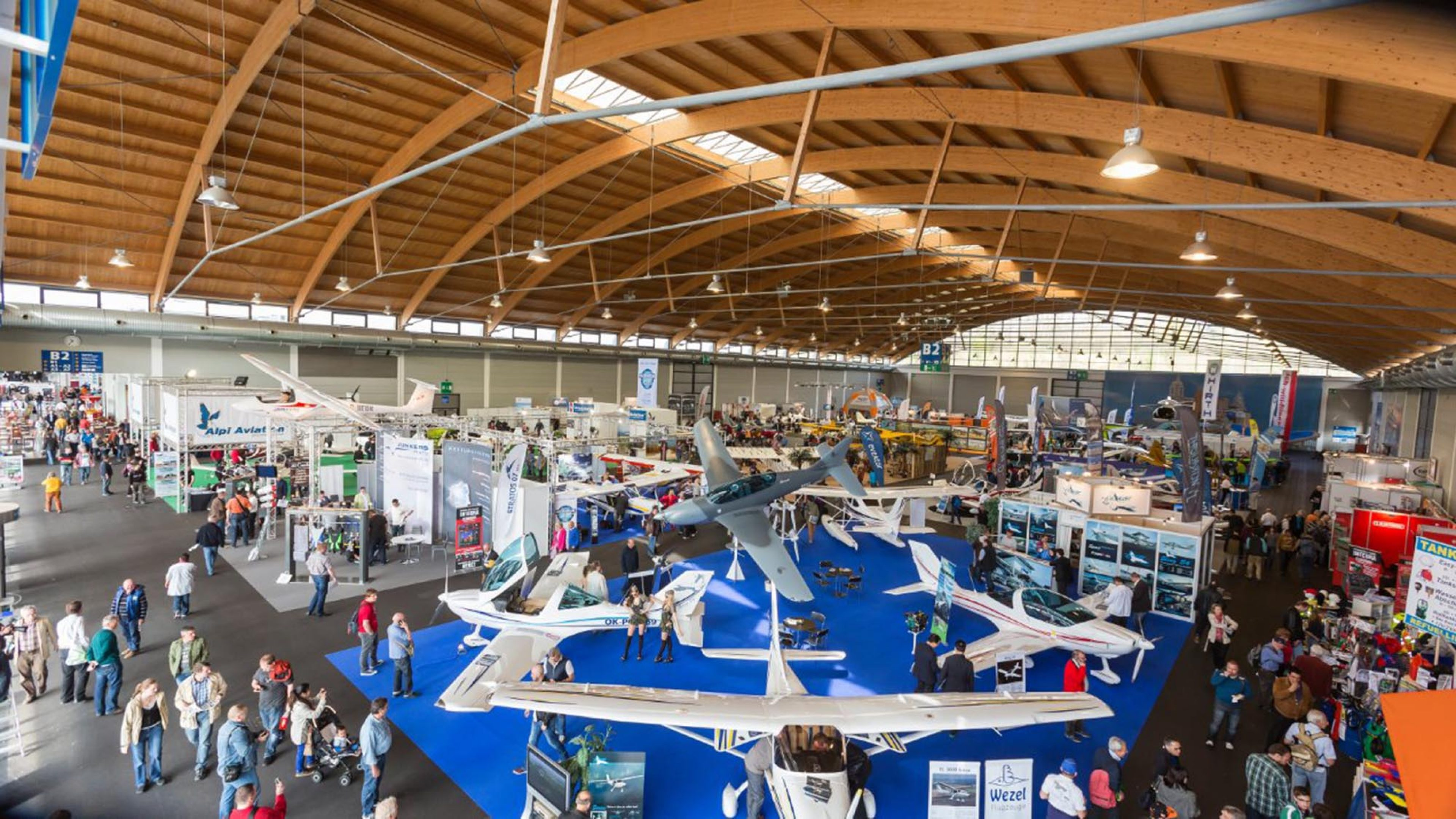 Overview of Aero Friedrichshafen 2015 where Air BP and RocketRoute Ltd. launch integrated fuel management