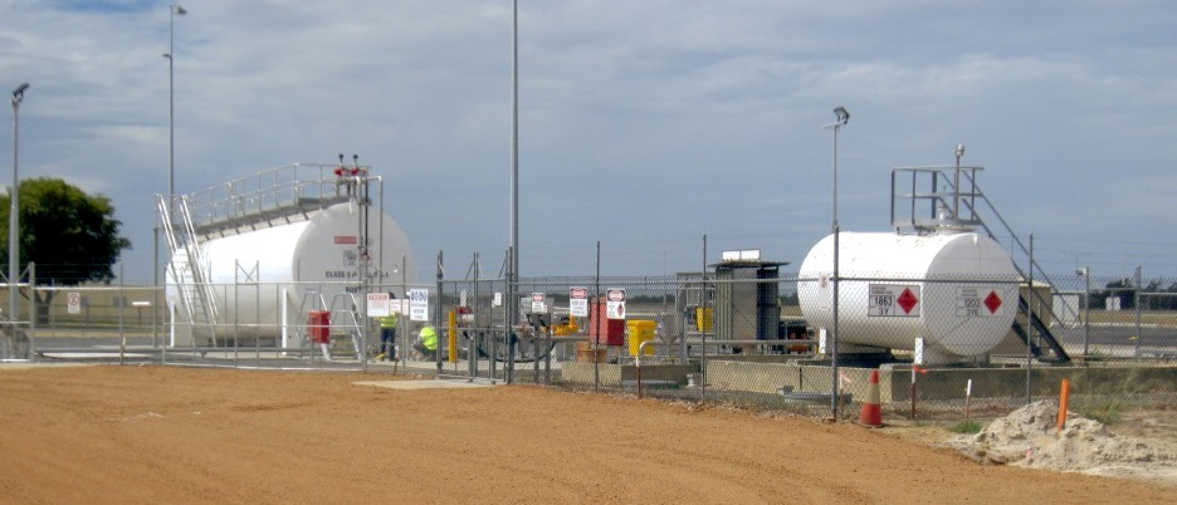 Air BP has invested in two new fuel tanks and a self serve facility at Busselton Airport, Australia