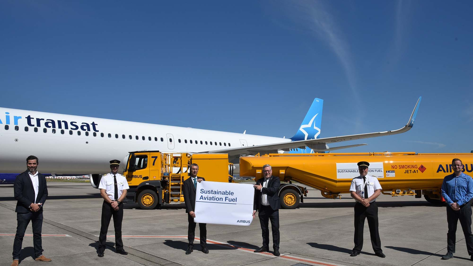 Air bp supplies sustainable aviation fuel for Airbus delivery ...
