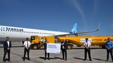 Air bp supplies sustainable aviation fuel for Airbus delivery flights