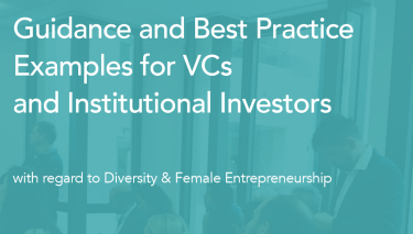 Best practice guide on diversity and female entrepreneurship for VCs and institutional investors