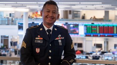 Using skills gained in the military to shape a new career: Tai's story