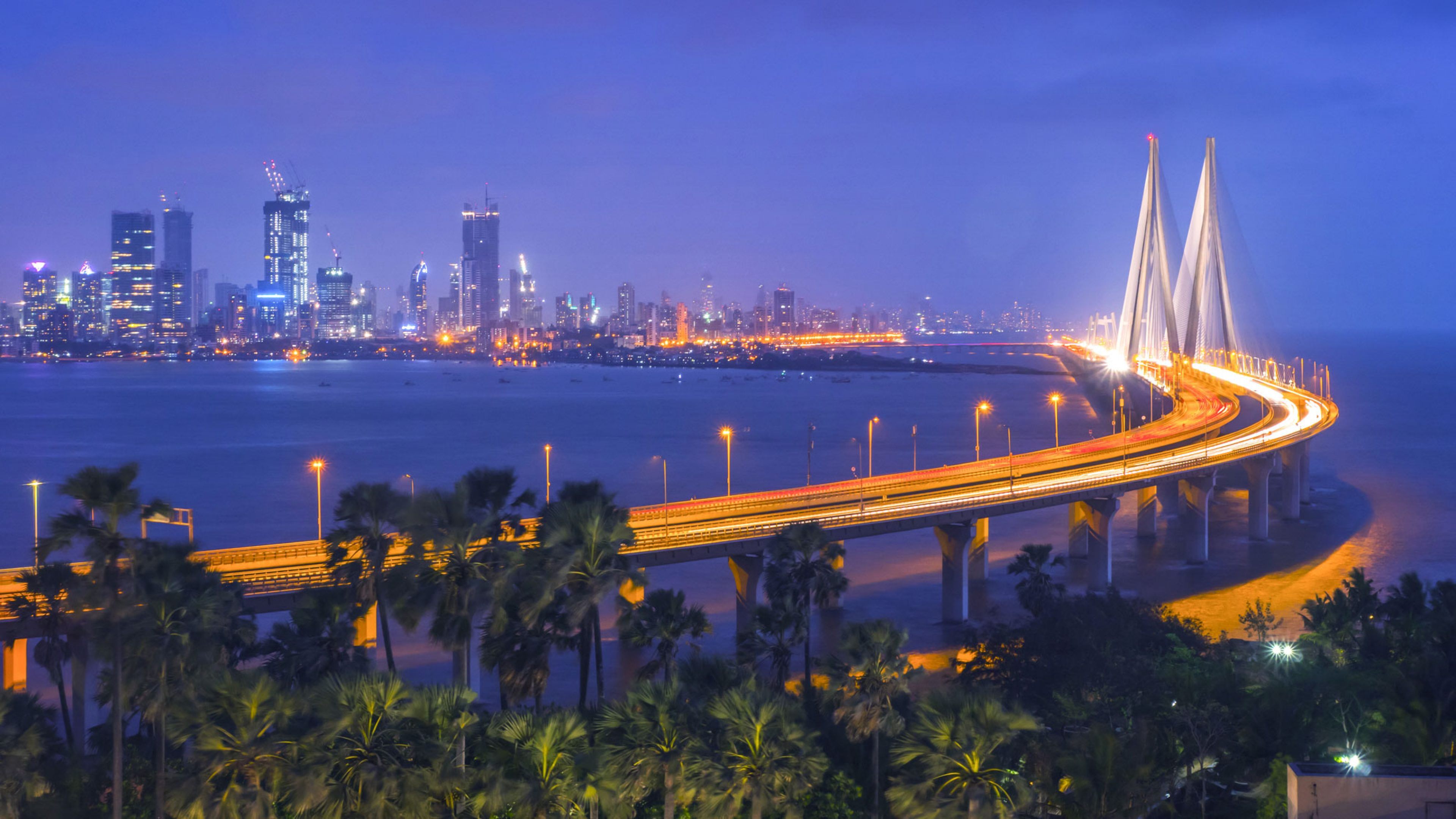 Mumbai at night