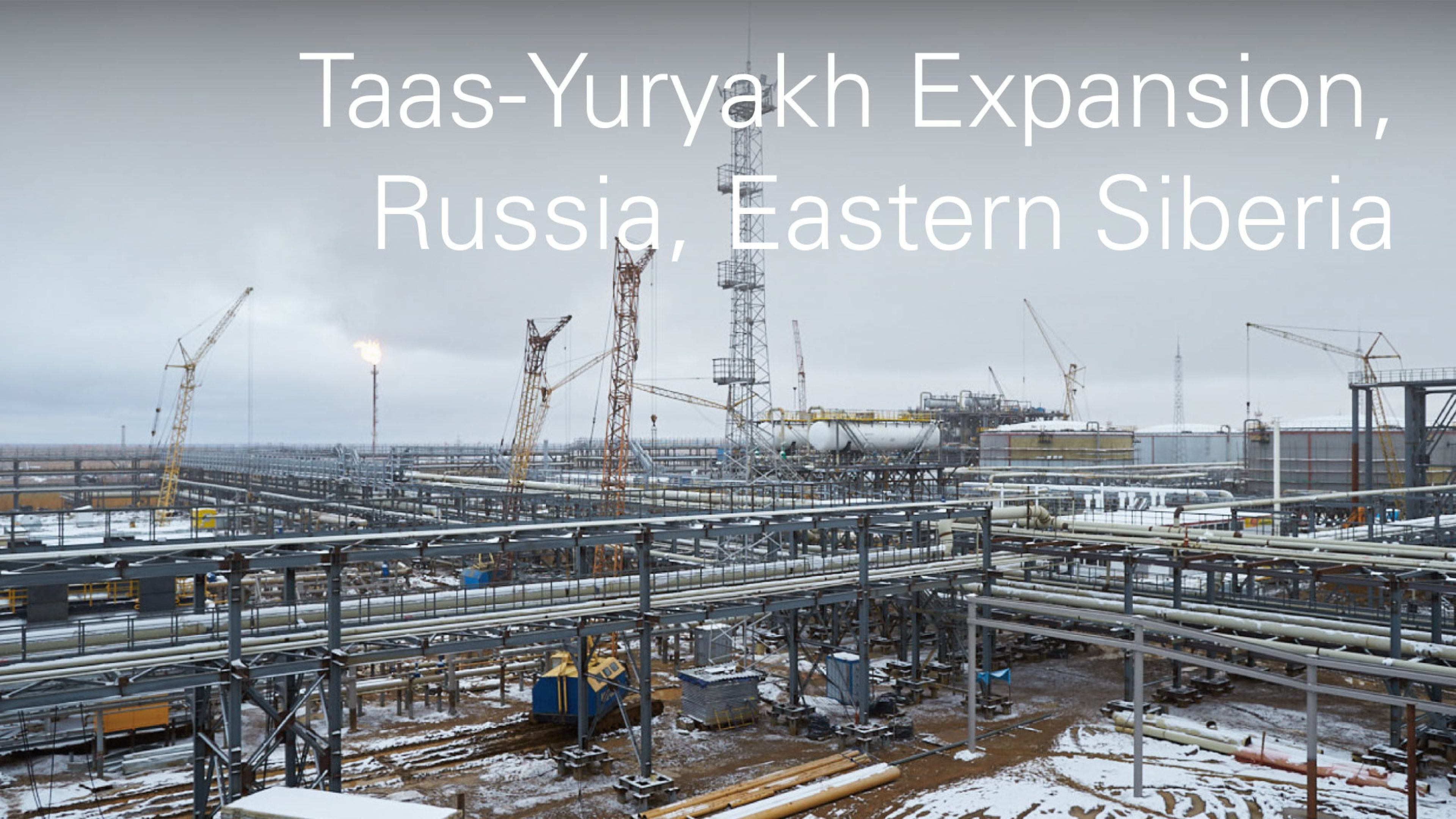 Taas-Yuryakh Expansion, Russia