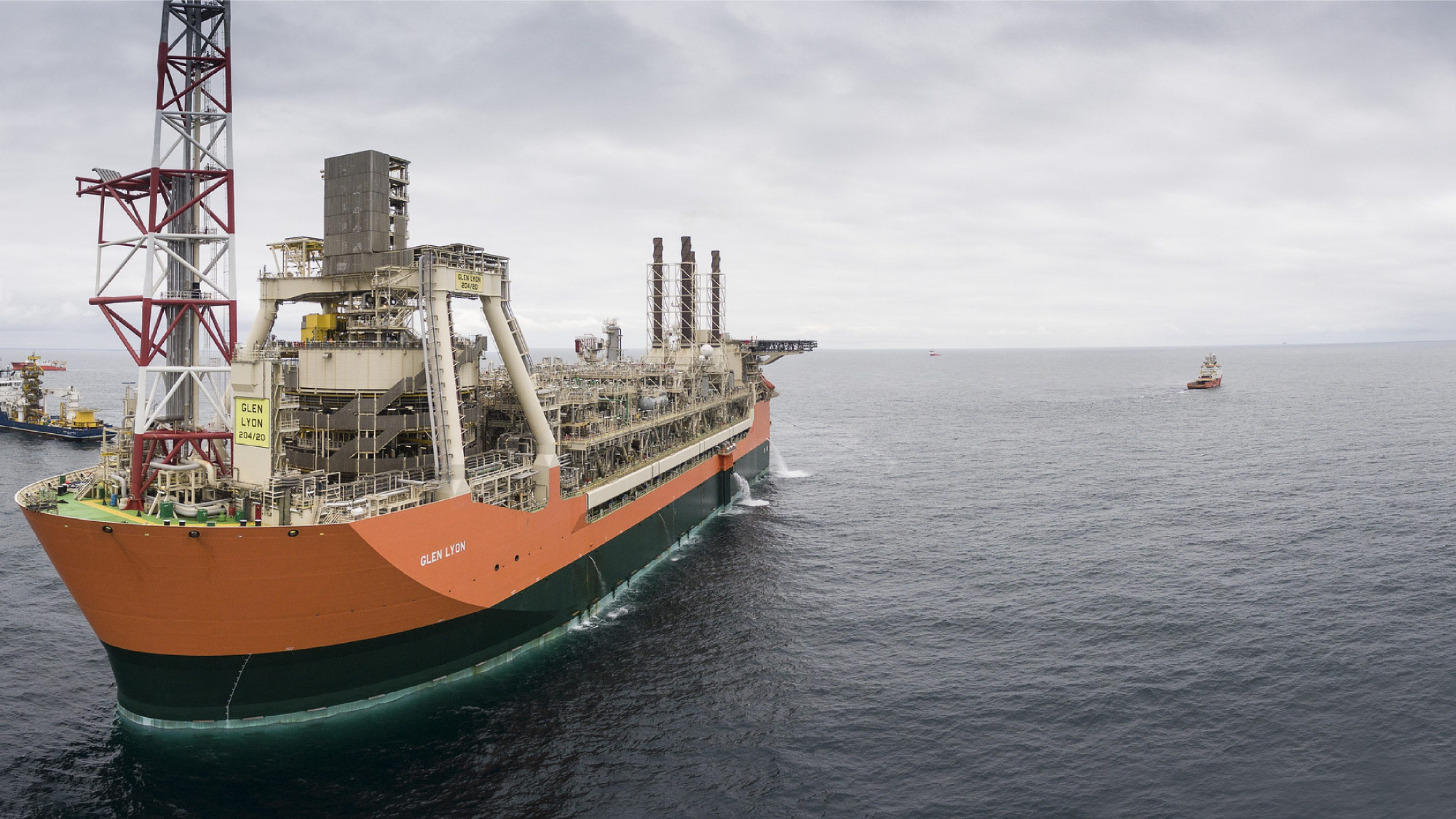Glen Lyon floating, production, storage and offloading (FPSO) vessel