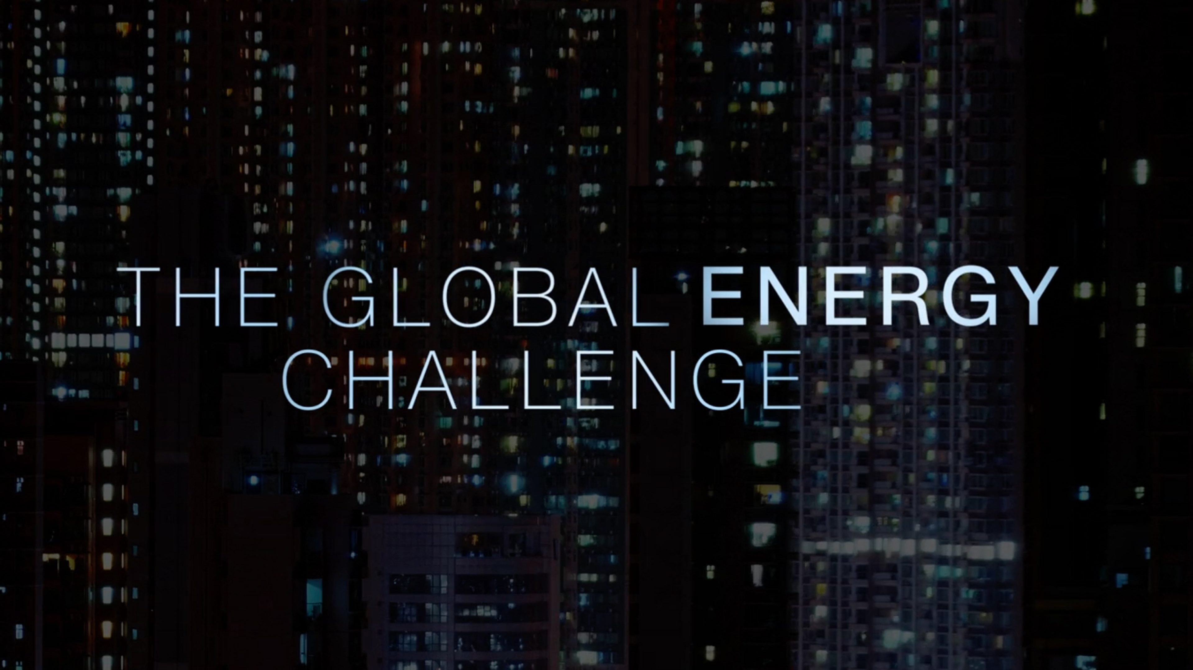 CNN - The global energy challenge