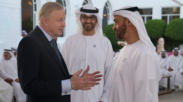 Dudley talks Middle East growth in Abu Dhabi