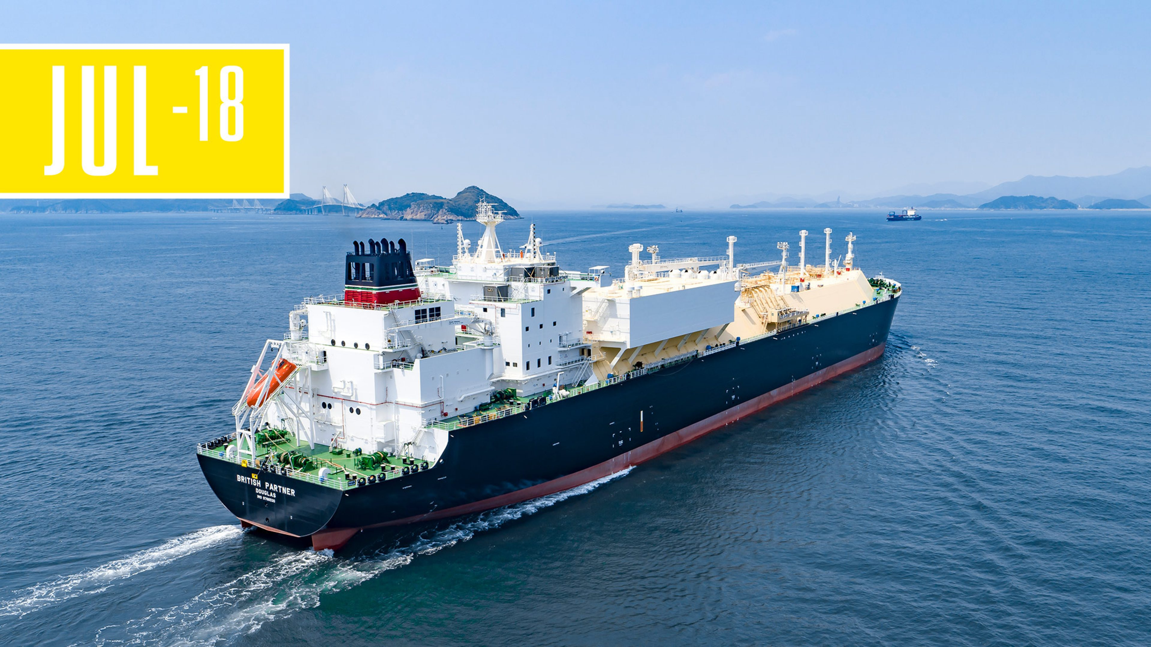 The British Partner, LNG carrier for BP Shipping
