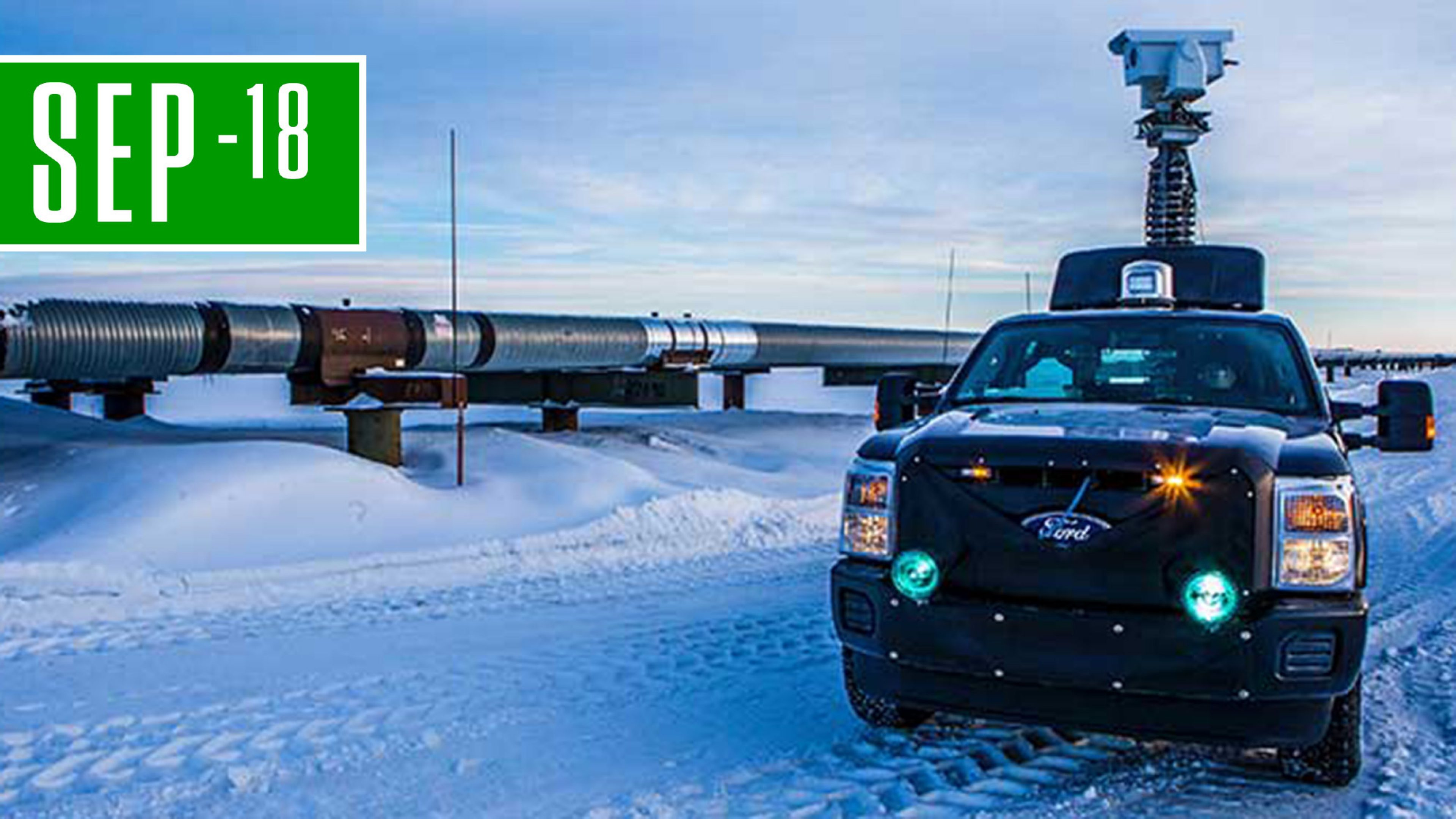 New technology, such as infra red thermal imaging equipment seen here in Alaska, can help detect methane emissions