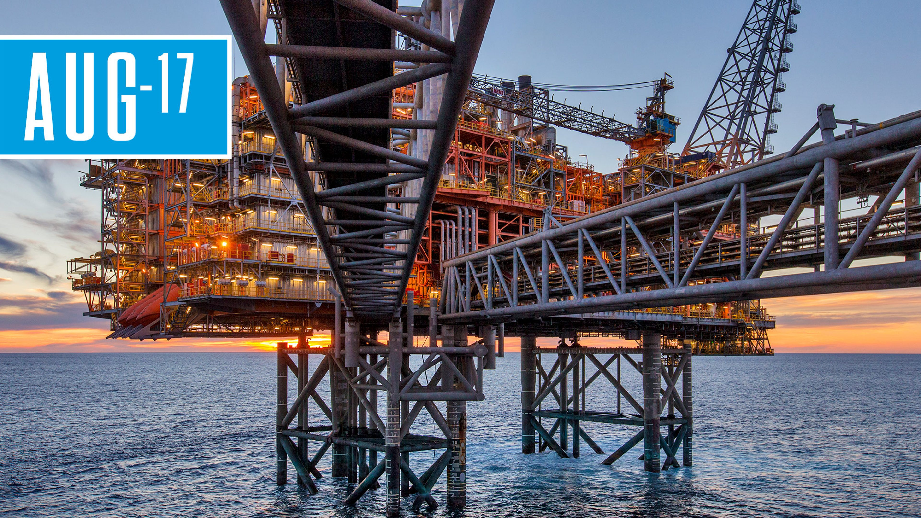 North Rankin complex, North West Shelf Project, offshore Australia