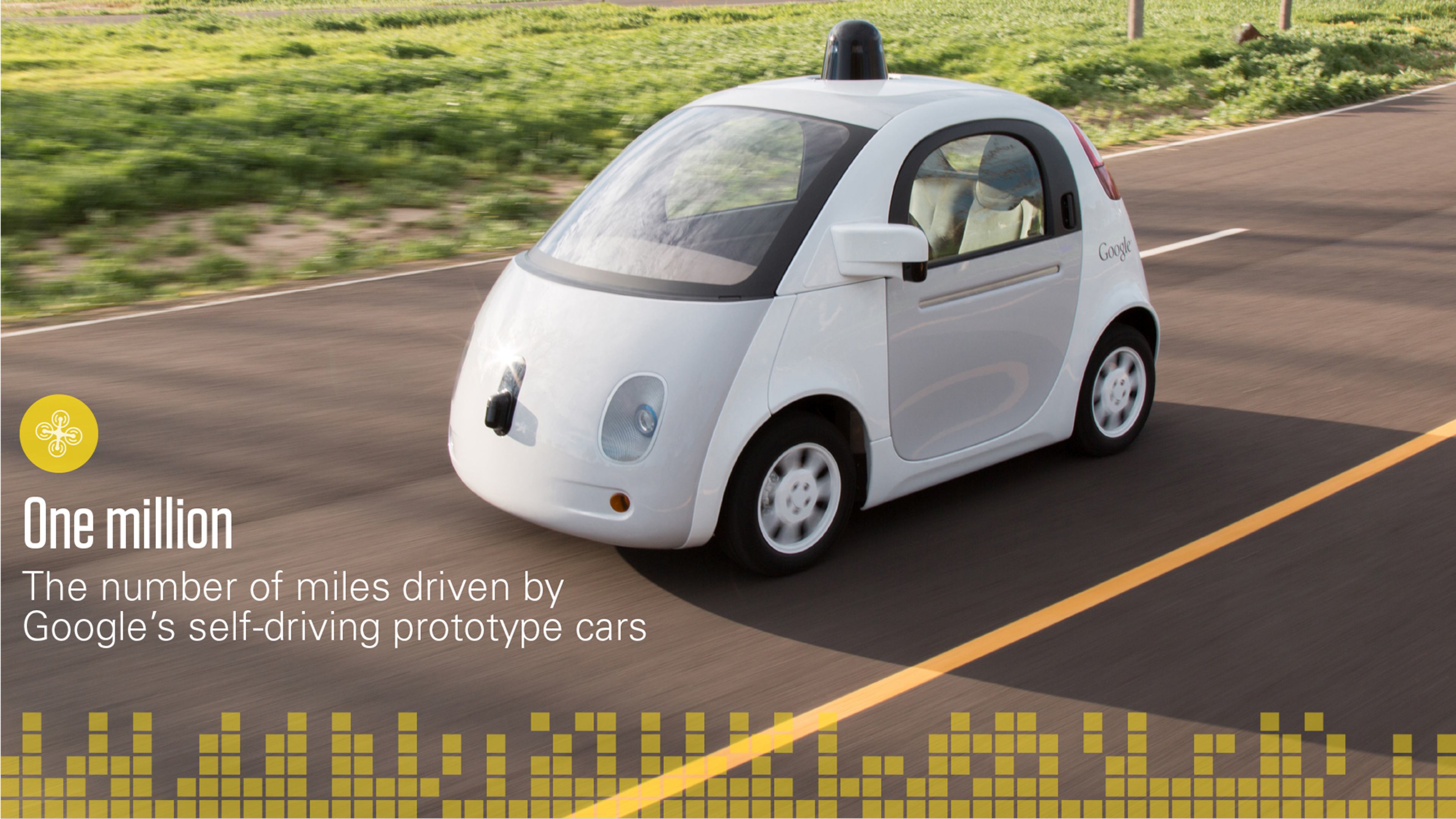 The Google self-driving prototype car