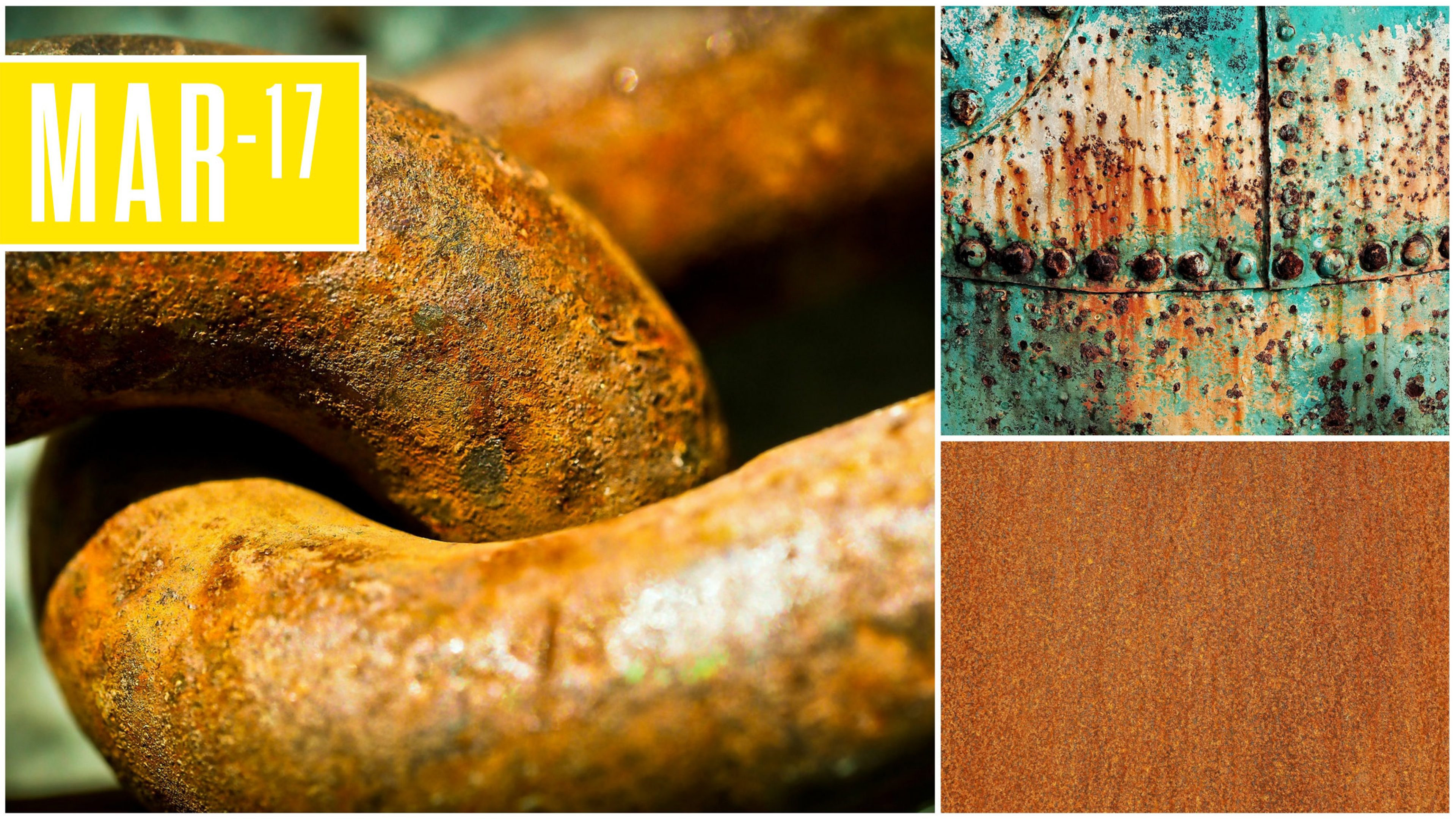 Generic images of rust and corrosion
