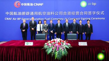 Air BP and CNAF expand partnership in fast-growing Chinese aviation market