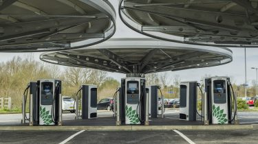 UK's largest public rapid charging hub inaugurated in Milton Keynes