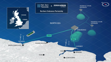 Leading energy companies form partnership to accelerate the development of offshore ‎transport and storage infrastructure for carbon emissions in UK North Sea‎