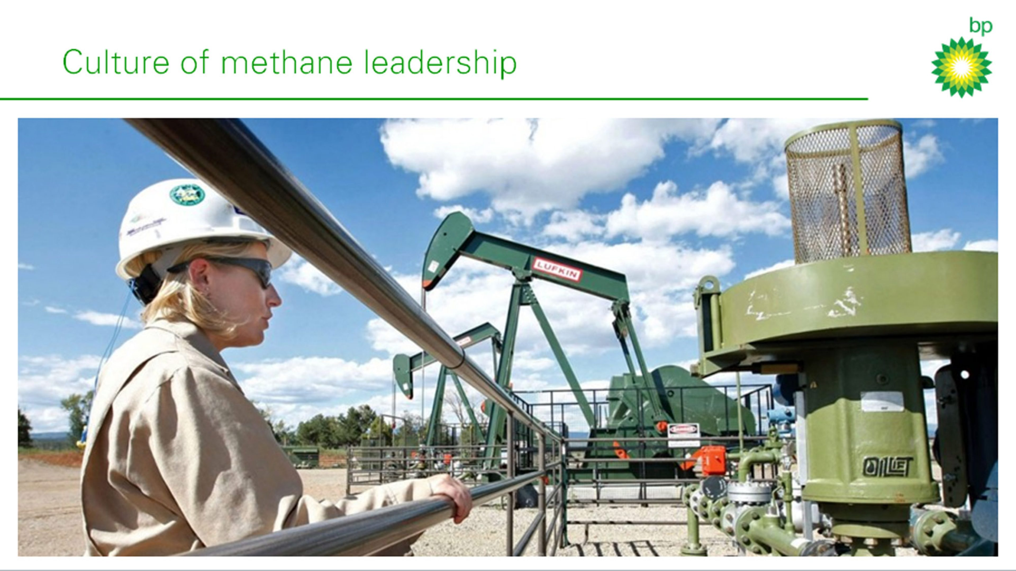 Action in the field - culture of methane leadership