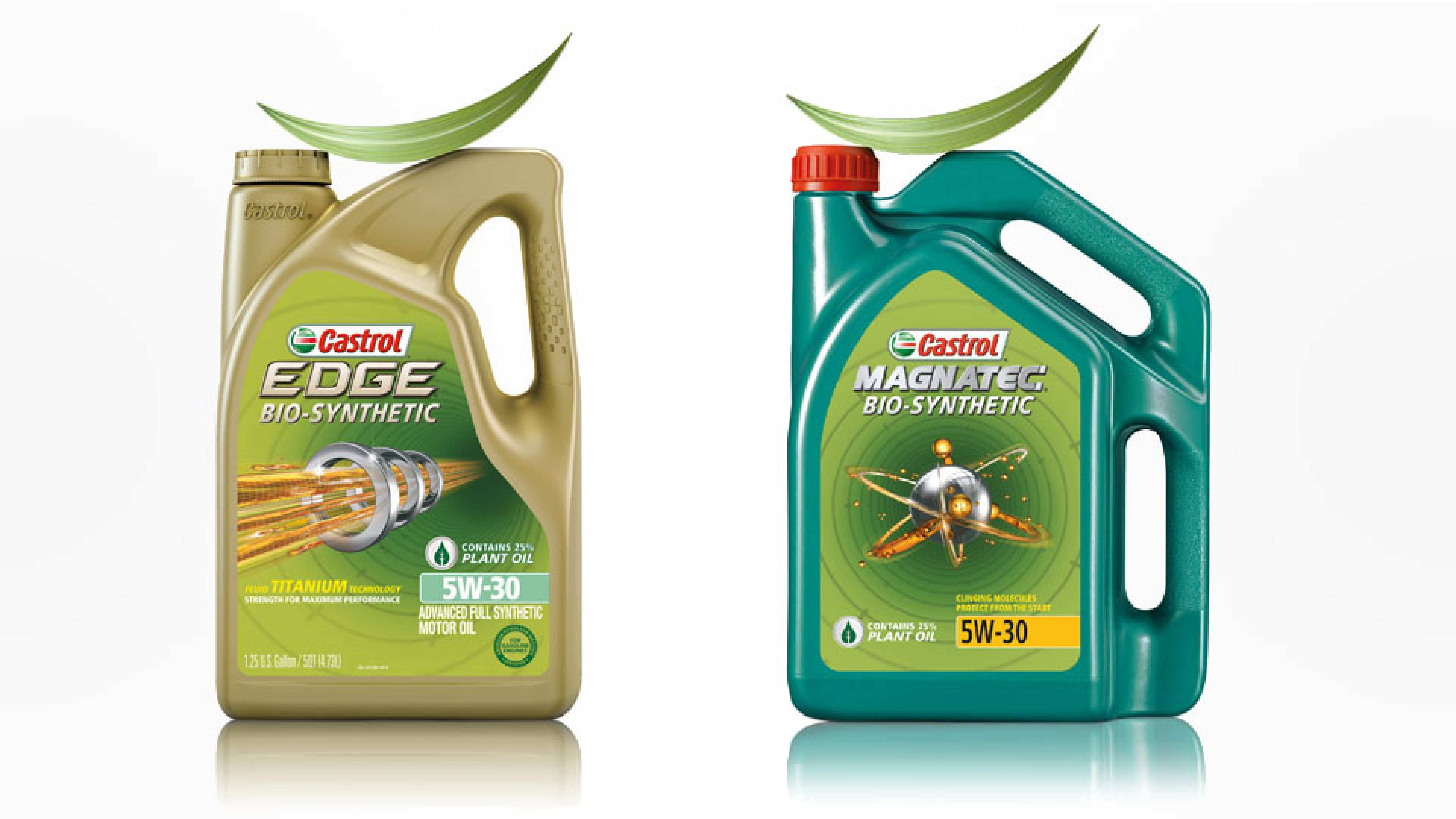 Castrol EDGE BIO-SYNTHETIC and MAGNATEC BIO-SYNTHETIC