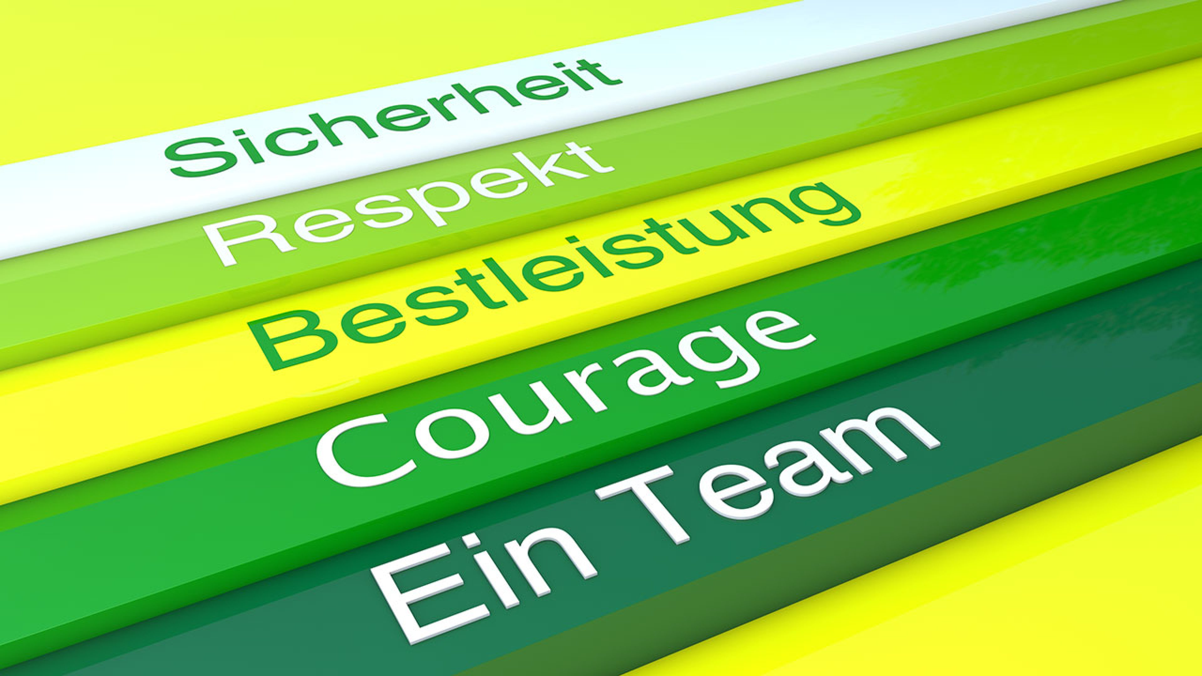 Unsere Werte - Our Values