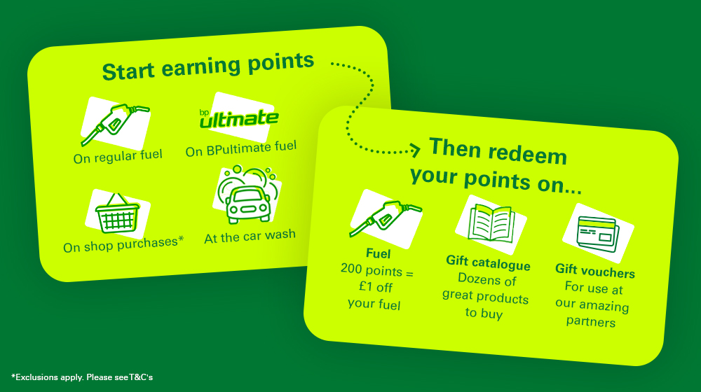 BPme Rewards   Products and services   Home