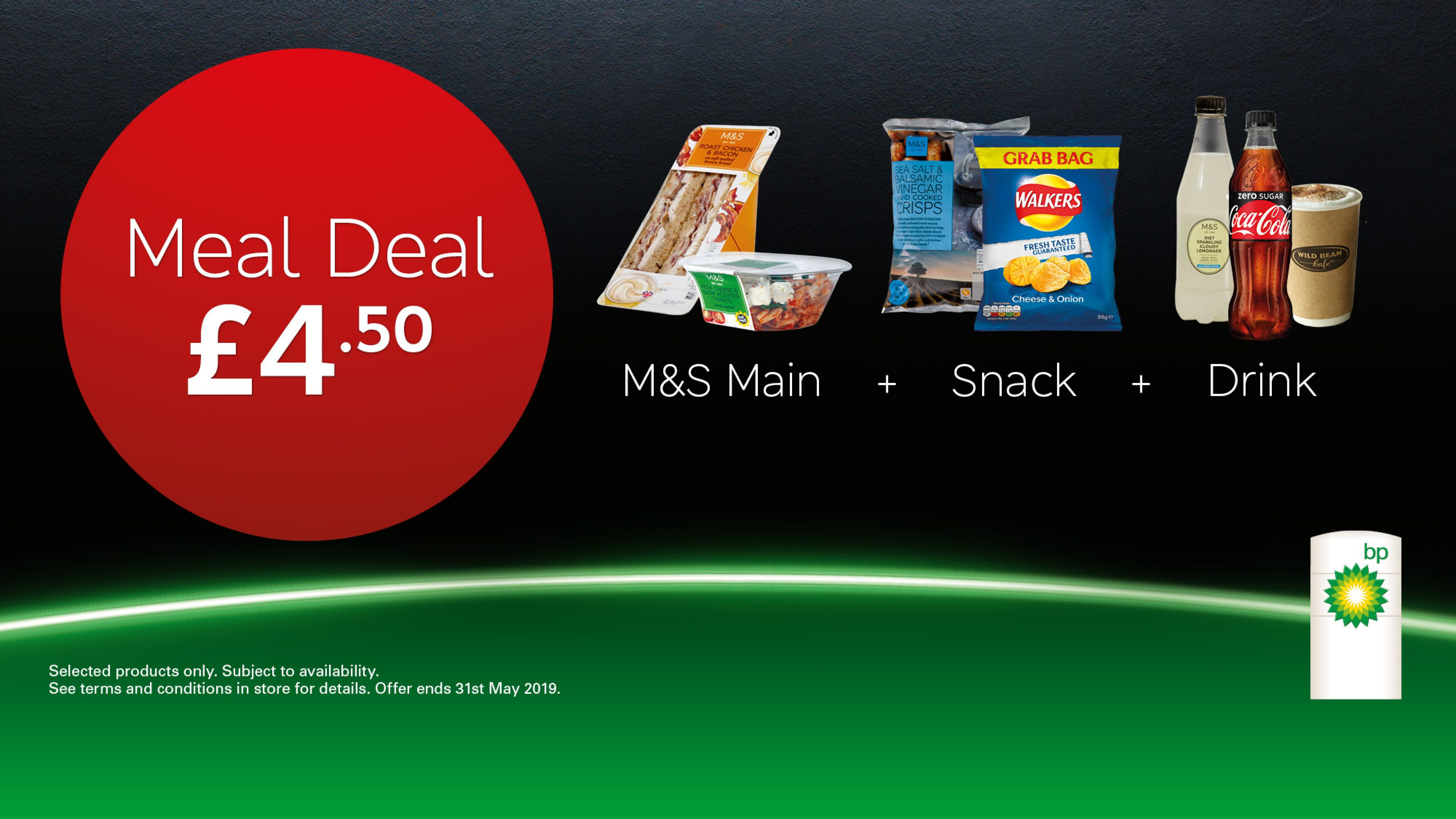 £4.50 meal deal