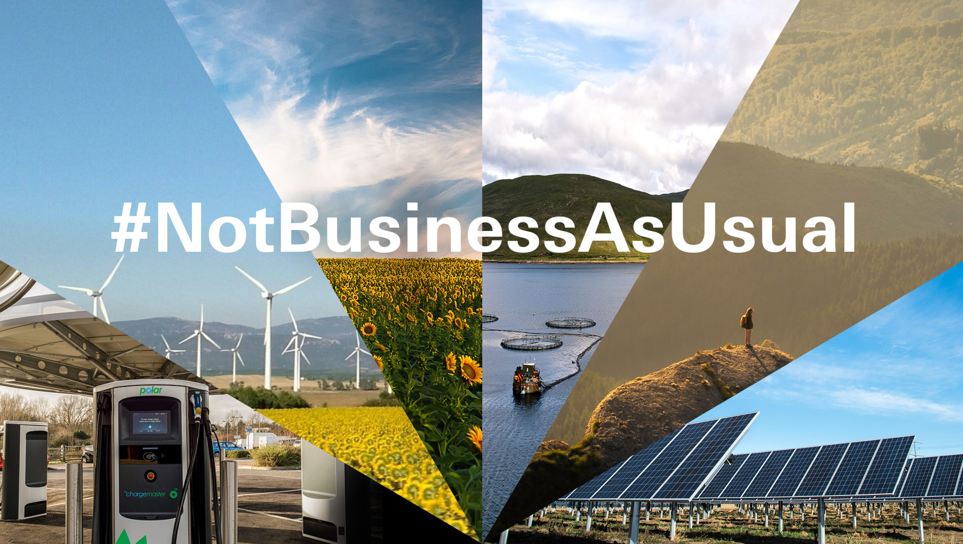 #NotBusinessAsUsual photo montage