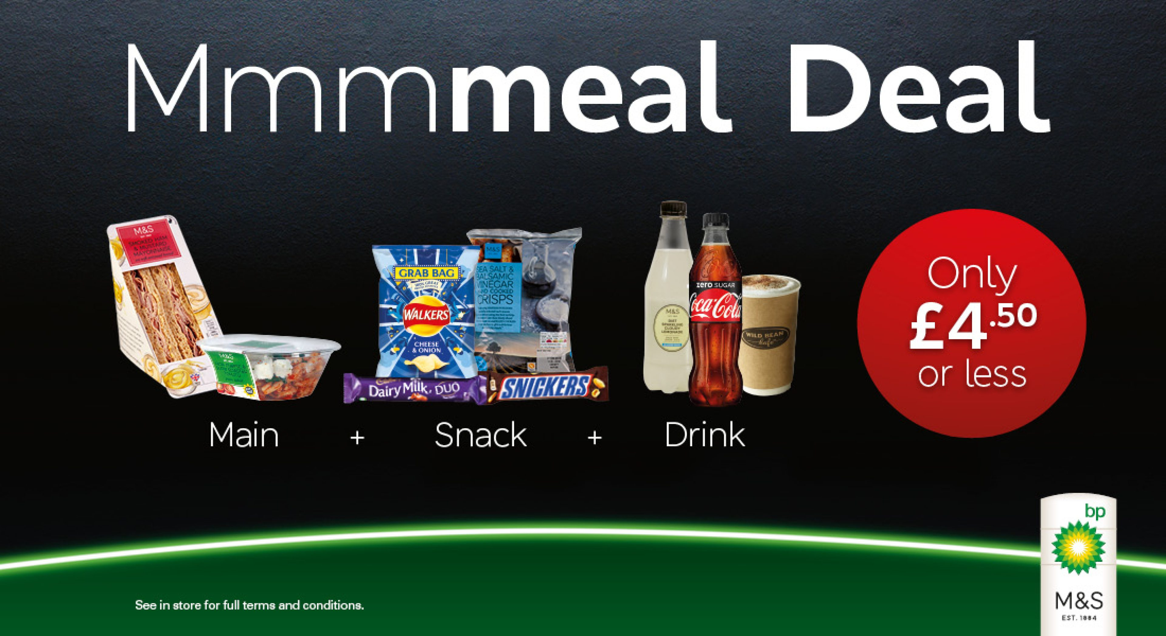 Did you seal the deal? Hope you didn't miss out on our amazing Meal Deal.