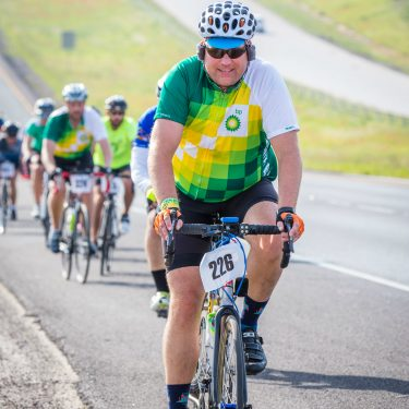 BP employee cycling nearly 600 miles across Texas to support MS research