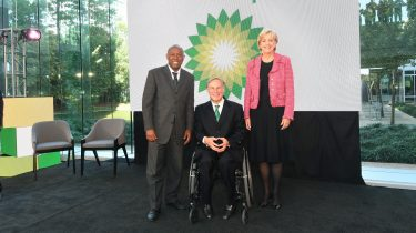 Governor and mayor join BP leaders to formally reopen Westlake One and tout modernization