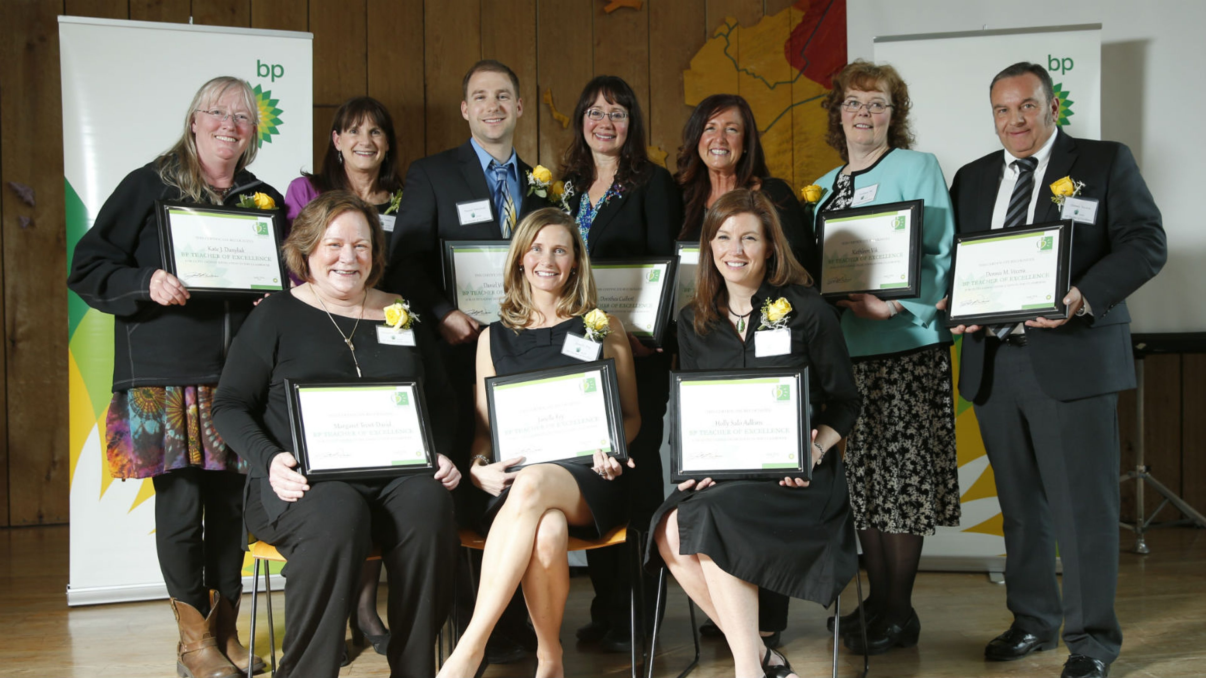 Teachers of Excellence winners 2016