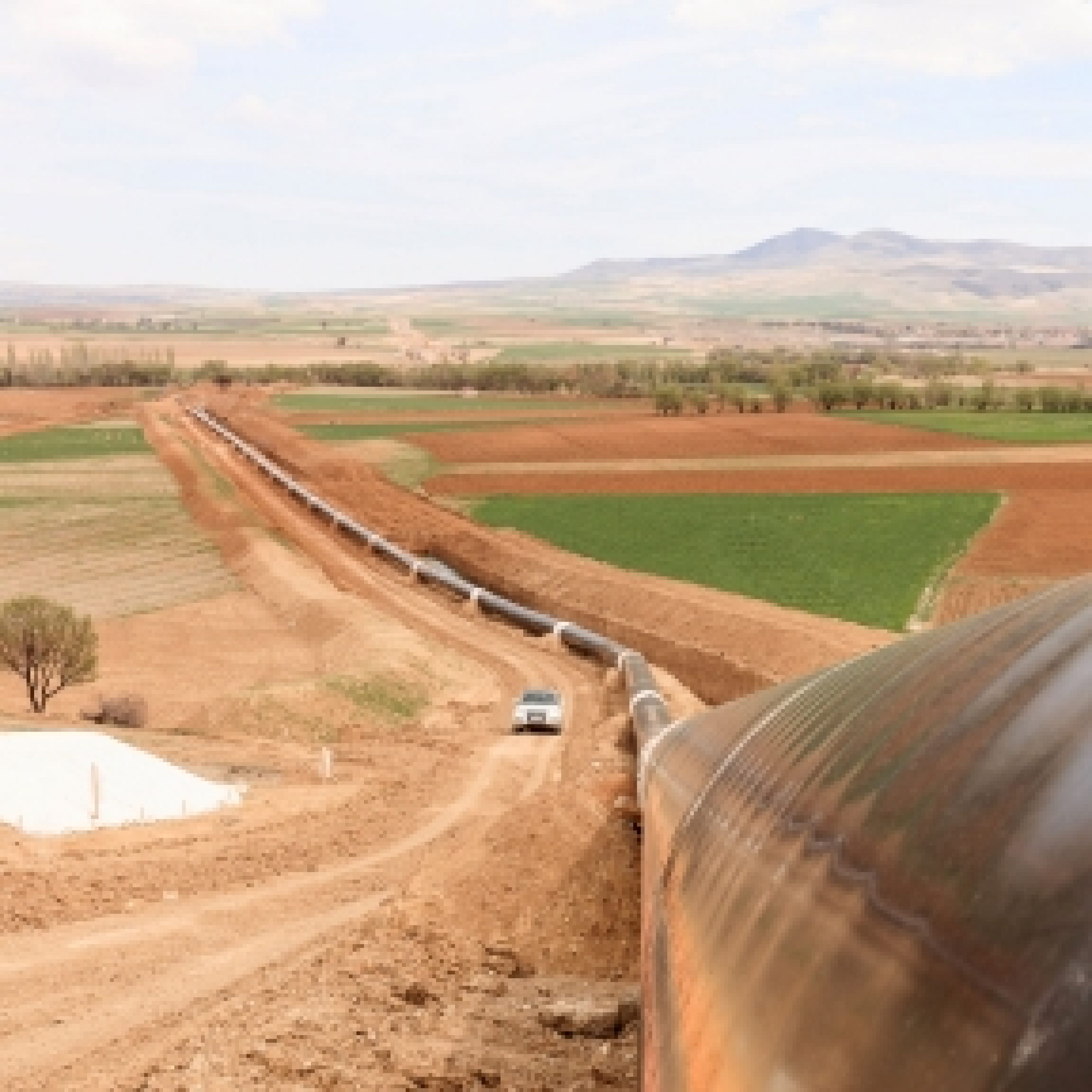 The new pipeline provides a gateway for new supplies of energy into Europe