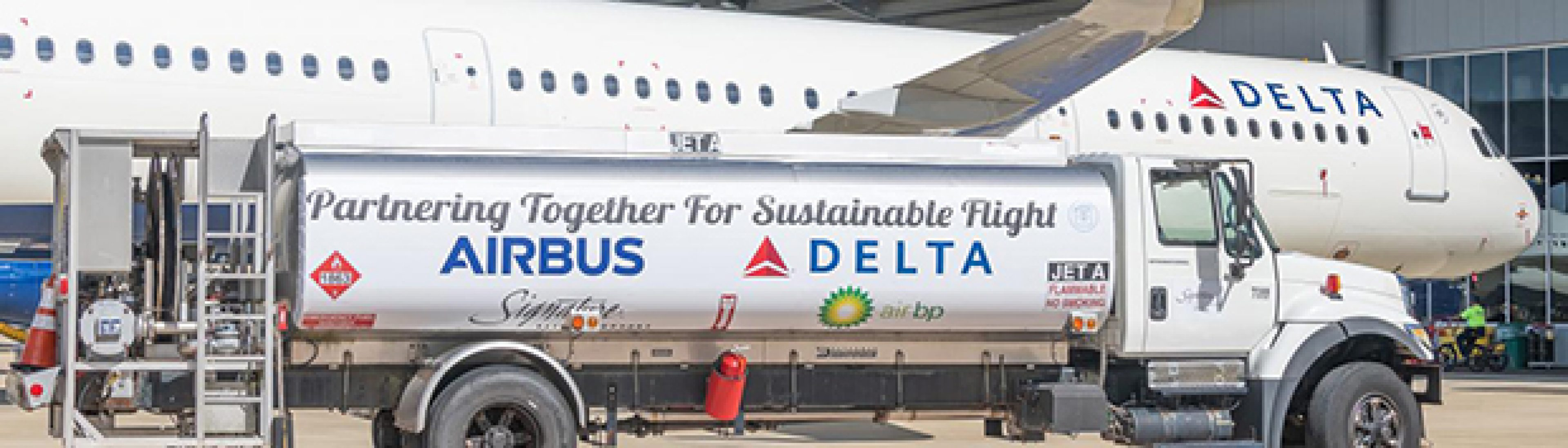 Main Content BP Target Neutral provides carbon offsets for Delta Air Lines first carbon-neutral delivery of new aircraft