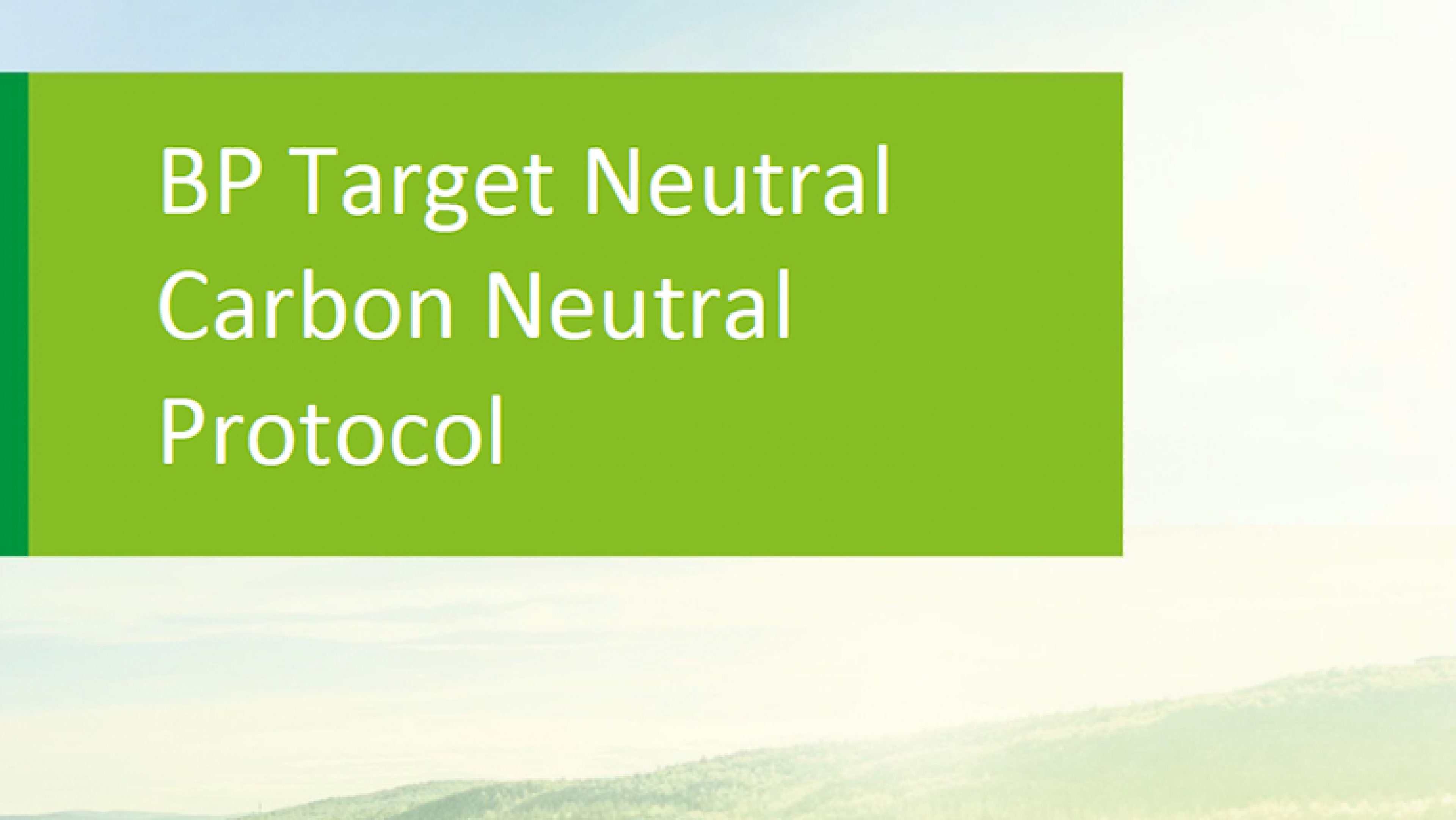 Carbon Neutral Protocol cover